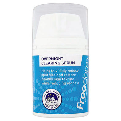 Freederm Overnight Clearing Serum 50 ml Bottle 1 Pack