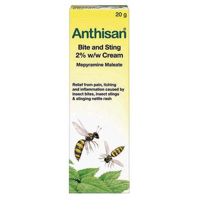 Anthisan® Bite and Sting Relief Cream 20 g Tube 1 Pack