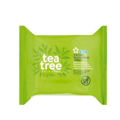 Tea Tree® Daily Use Facial Wipe 50