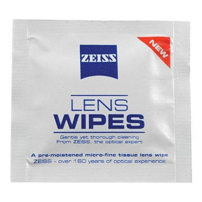 Zeiss® Lens Wipe 24 Fragrance-Free 1 Pack