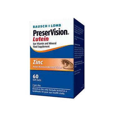 Preservision® Soft Gel 60 Tablets Helps to Maintain Normal Vision 1 Pack