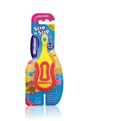 Wisdom® Toothbrush Extra Small for 0 to 2 years Babies 1 Pack