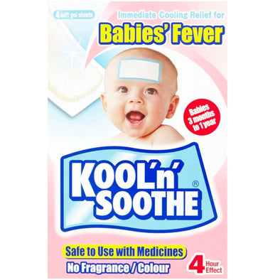 Kool 'n' Soothe® Cooling Strip Upto 1 years Age 1 Pack