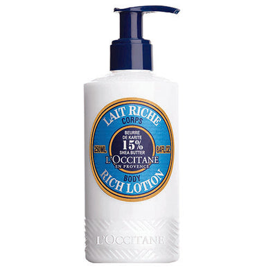 L'occitane® Shea Butter Ultra Body Lotion 250 ml Tube 1 Pack