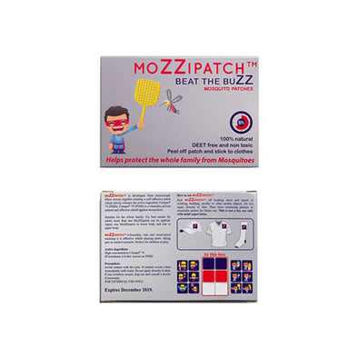 MoZZipatch Mosquito Repellent for Kill Mosquitoes 8 Hours Tube