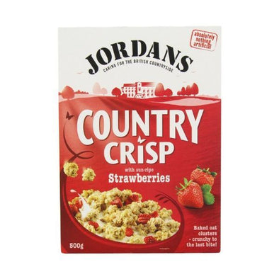 Jordans Country Crisp  Strawberry Clusters 500g
