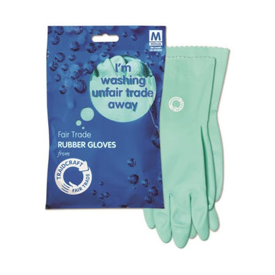 Traidcraft Fairtrade Rubber Gloves 12 Pack