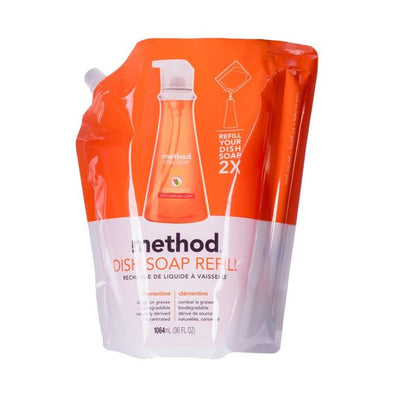 Method Washing Up Liquid Refill  Clementine 1.064Ltr