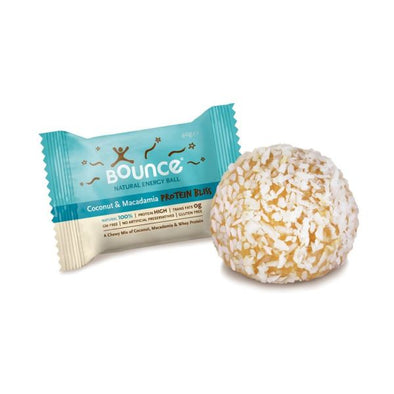 Bounce Coconut & MacadamiaProtein BlissEnergy Balls 40g x 40