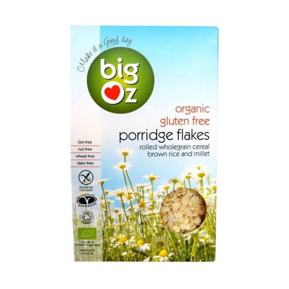 Big Oz Porridge Flakes 500g x 5