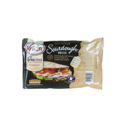 Kelkin Multiseed Sourdough Bread  Gluten Free 200g