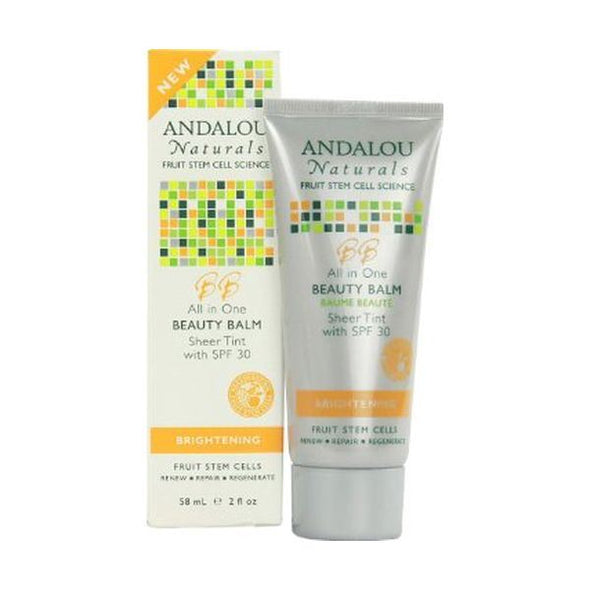 ANDALOU ALL IN ONE BEAUTY BALM SHEER TINT SPF 30 58ML