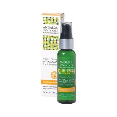 Andalou Argan + Omega Natural Glow 3 In 1 Treatment 56ml