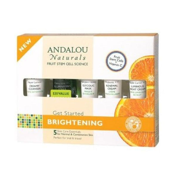 ANDALOU GET STARTED BRIGHTENING KIT 5 PIECES