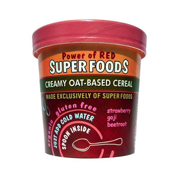 Of The Earth Power Of Red Instant Cereal Pot 65g x 8