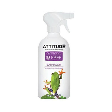 ATTITUDE CITRUS ZEST BATHROOM LIMESCALE REMOVER 800ML