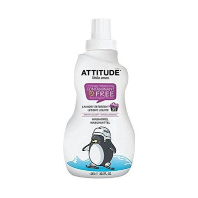 ATTITUDE LITTLE ONES 35 WASH LULLABY LAUNDRY LIQUID 1.05LTR