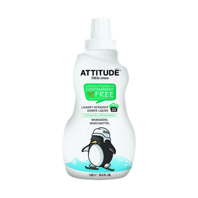 ATTITUDE LITTLE ONES 35 WASH PEAR LAUNDRY LIQUID 1.05LTR