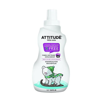 ATTITUDE LITTLE ONES 40 LOAD LULLABY FABRIC SOFTENER 1LTR