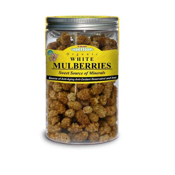 Of The Earth Organic White Mulberries 150g