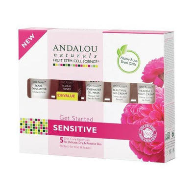 Andalou 1000 Roses Get Started Kit 5 piece