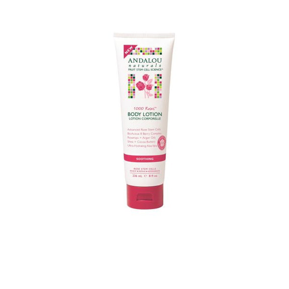 ANDALOU 1000 ROSES SOOTHING BODY LOTION 236ML