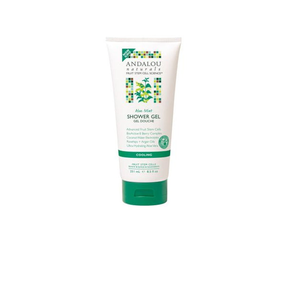 ANDALOU ALOE MINT COOLING SHOWER GEL 251ML