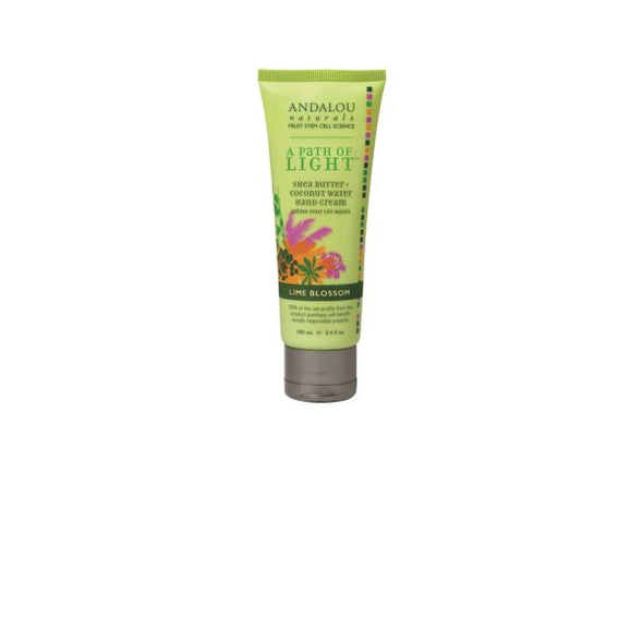 ANDALOU LIME BLOSSOM HAND CREAM 100ML