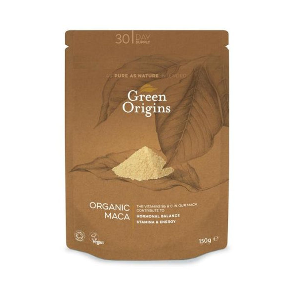 Green Origins Organic Raw Maca Powder 150g