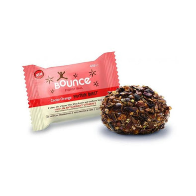 Bounce Cacao Orange Protein Burst Energy Ball 42g x 40