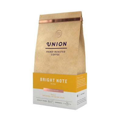 Union Coffee Bright Note Blend Whole Bean 200g