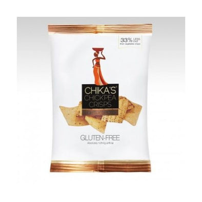 Chikas Lightly Spiced Chickpea Crisps 35g x 16