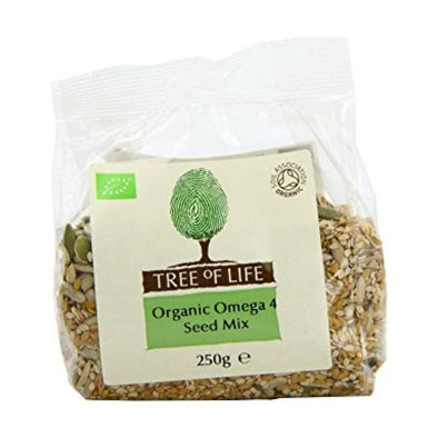 Tree Of Life Organic Dark Green Speckled Lentils 500g x 6