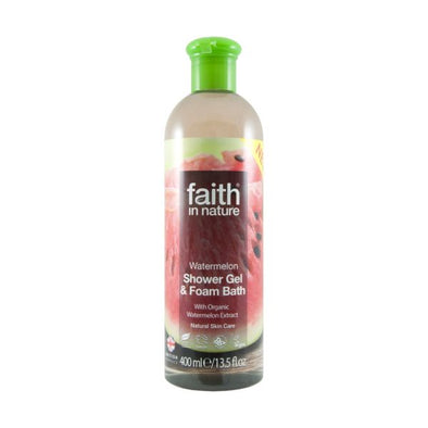 Faith Watermelon Shower Gel & Foam Bath 400ml