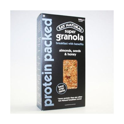 Eat Nat Protein Packed Super Granola Breakfast 500g x 5