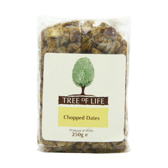 Tree Of Life Dates  Chopped 250g x 6