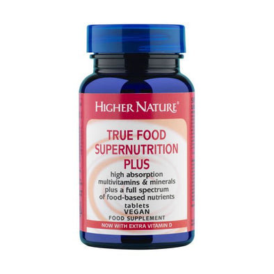 Higher Nature True Food Super Nutrition+ Tablets 90s
