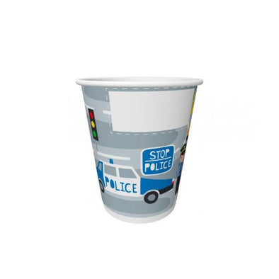 Duni 20Cl Police Paper Cup 10s
