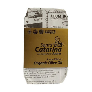 Santa Catarina Tuna Fillets In Olive Oil 120g