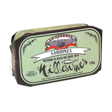 La Gondola Millésimés Sardines Matured In Olive Oil 120g