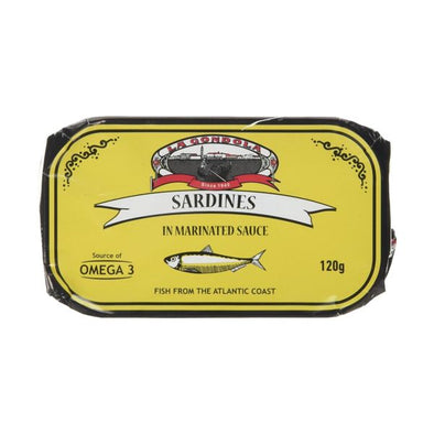 La Gondola Sardines In Marinated Sauce 120g
