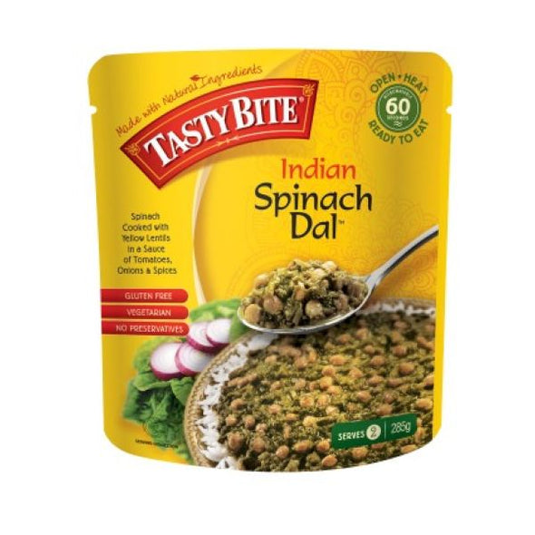 Tasty Bite Indian Spinach Dal 285g x 6