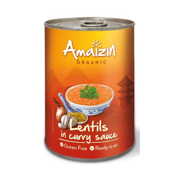 Amaizin Lentils In Curry Sauce 420g x 6