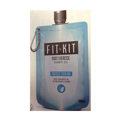 Fit Kit Muscle Cooling Shower Gel 200ml x 6