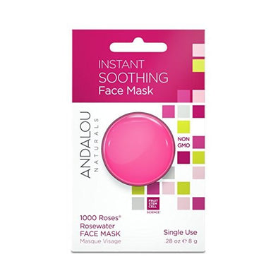 ANDALOU INSTANT SOOTHING FACE MASK POD 8G X 6