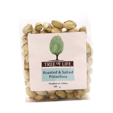Tree Of Life Pistachio Nuts  Roasted & Salted 125g x 6