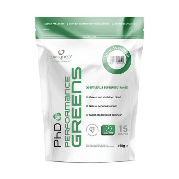 Phd Nutrition Performance Greens Unflavoured 165g