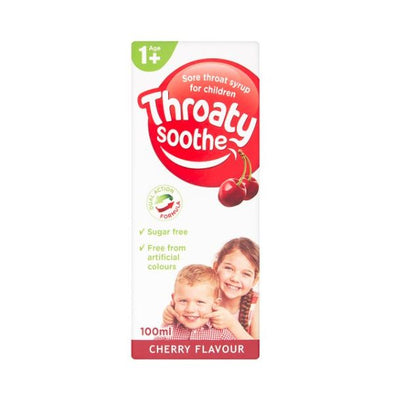 Throaty Soothe Sore Throat Syrup For Children 100ml