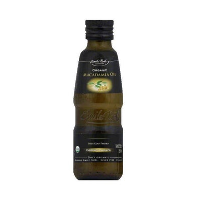 Emile Noel Organic Virgin Cold Pressed Macadamia Oil 250ml