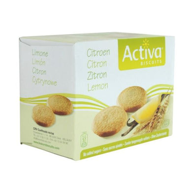 ACTIVA LEMON BISCUITS NO ADDED SUGAR 150G